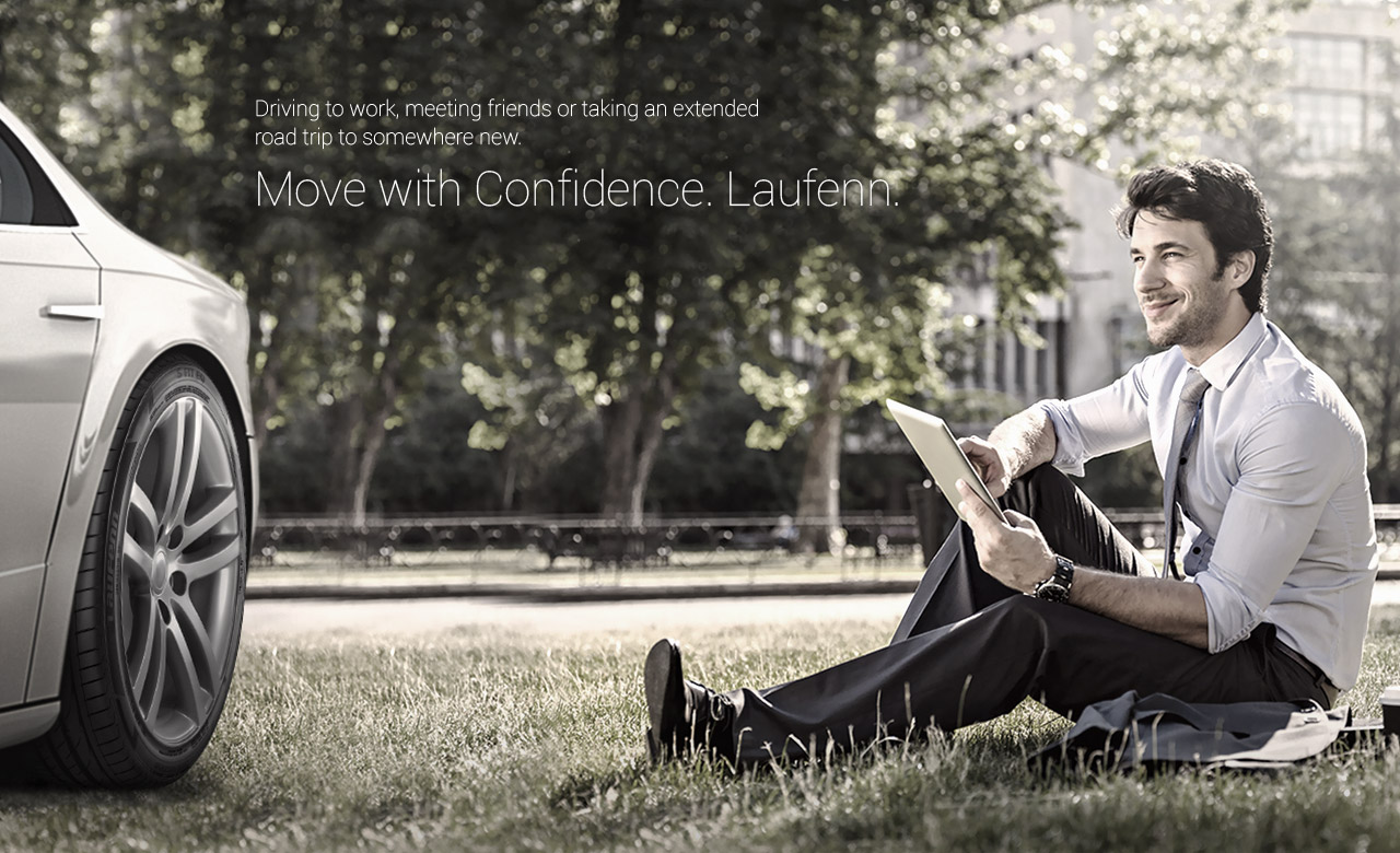 Move with confidence. Laufenn.